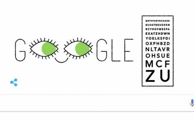 Google dedicates doodle to Monoyer on his 181st birth anniversary with a quirky animated doodle.