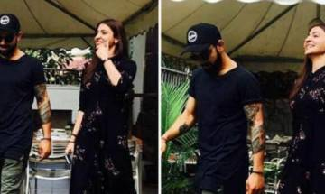 Anushka wears RCB skipper Virat Kohli's cap to create frenzy on Instagram post lunch date
