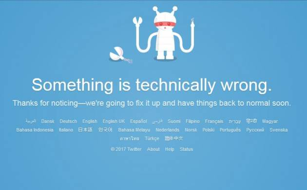 Twitter down, faces temporary outage for second consecutive day