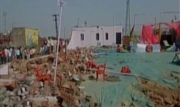 25 killed as wall of marriage hall collapses due to heavy storm and rain in Bharatpur