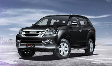 Isuzu Motors SUV MU-X hits Indian roads to counter Toyota Fortuner, Ford Endeavour