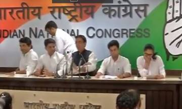 Congress on 3 years of Modi Government: 'BJP wants a Dalit-free, tribal-free country'