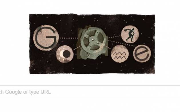 'Antikythera mechanism' Google dedicates doodle to highlight discovery