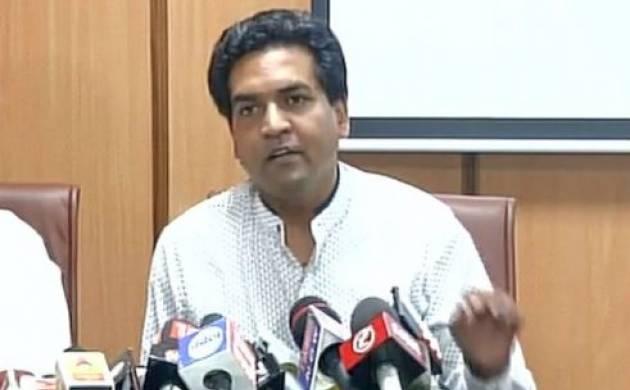 Kapil Mishra addresses press conference on source of Rs 2cr