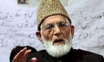 Kashmir human shield row: ICJ should take suo-moto action against Major Gogoi, says Hurriyat's Geelani