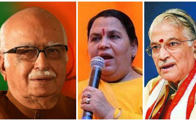Babri Masjid case: Charges of criminal conspiracy framed against Advani, Joshi, Uma Bharti, 9 other accused by Special CBI Court