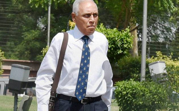 A file photo of former Indian Air Force chief SP Tyagi.