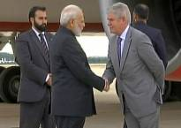 PM Narendra Modi arrives in Spanish capital; MEA tweets 'Hola Espana' on Indian PM's first visit in nearly 3 decades