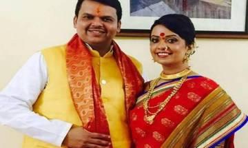Wife of Maha CM Devendra Fadnavis wants SHG made sanitary pads out of GST ambit
