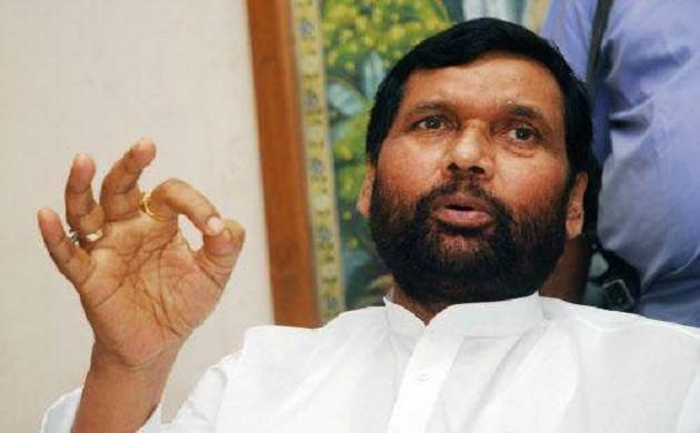 File photo of Union food minister Ram Vilas Paswan
