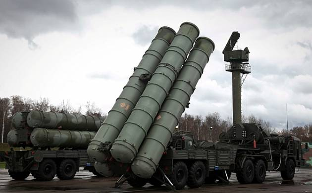 S-400 Triumf anti-aircraft missile systems