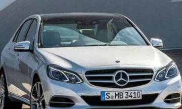 Mercedes Benz unveils all-new E-Class 220 d sedan in India at Rs 57.14 lakhs
