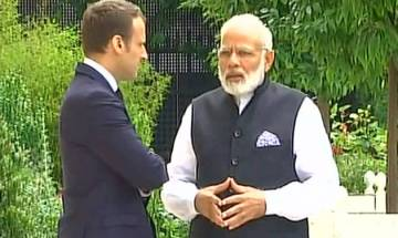 Indian soldiers dying for our freedom is evidence of strong bond between India and France, says President Emmanuel Macron