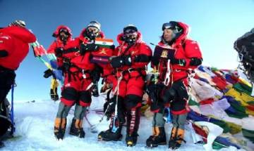 Indian Army personnel climb Mt Everest without using supplementary oxygen