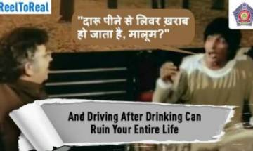 Mumbai Police's Sholay campaign creates awareness with  Amitabh Bachchan's famous dialogue and scenes