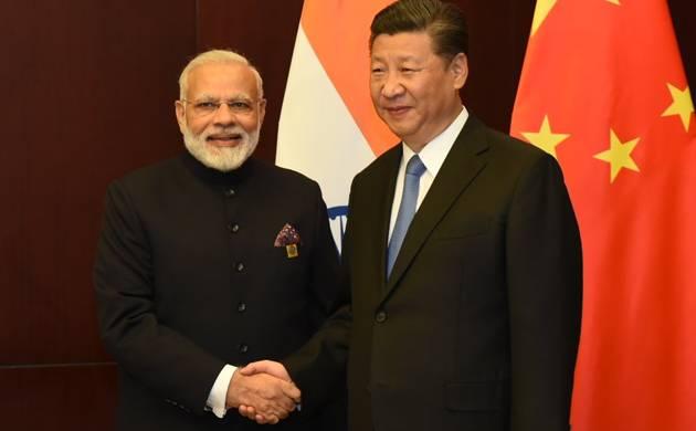 PM Narendra Modi meets Chinese President Xi Jinping (Pic: Twitter/PMO)