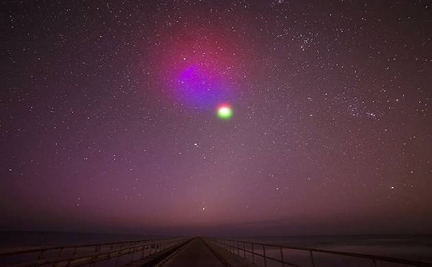 NASA to launch sounding rocket to create colorful artificial clouds