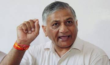 V K Singh demands apology from Congress for Sandeep Dikshit's comment on Bipin Rawat