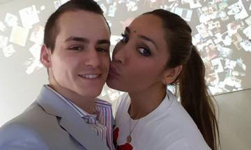 Sofia Hayat shares 'love making' video with hubby Vlad Stan on Instagram