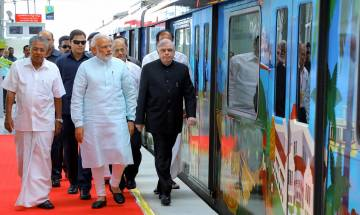 Kochi Metro inauguration: 'BJP state prez ride with PM a security breach'