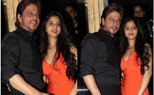 In Pics: Suhana Khan appears with his father Shah Rukh Khan, looks smoking hot