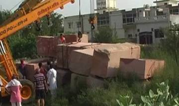 VHP starts stockpiling stones for Ram temple in Ayodhya, says construction to start within a year