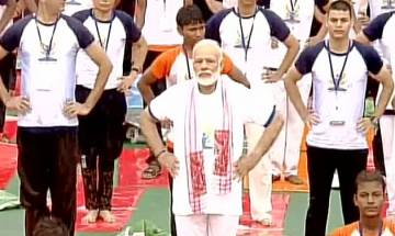 International Yoga Day: PM Narendra Modi performs 'asanas' in Lucknow   Top quotes