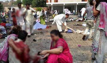 Multiple blasts and firing kill 62 in Pakistan; IS, Tehreek-i-Taliban Pakistan claims responsibility