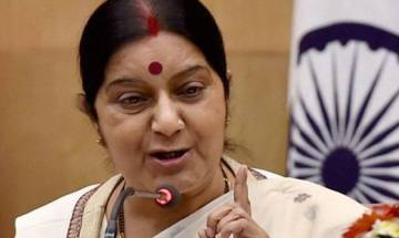 Sushma Swaraj asks Indian envoy in Saudi to help nurse pushed into slavery in Gulf country