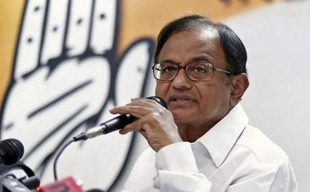 P Chidambaram attacks PM Modi