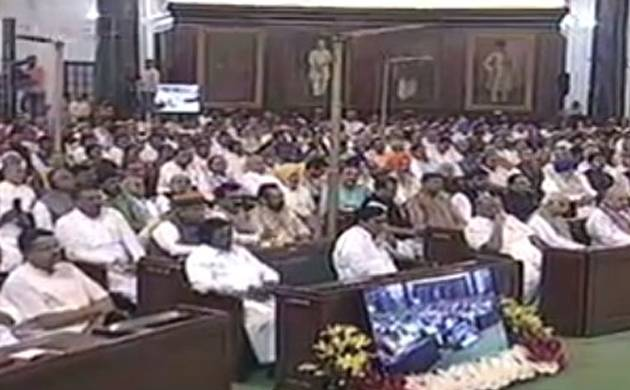 GST Launch: MPs capture historic moment with Selfie (ANI Image)
