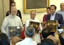 PM Modi praises Pranab Mukherjee, says he is fortunate that he got to work with Prez