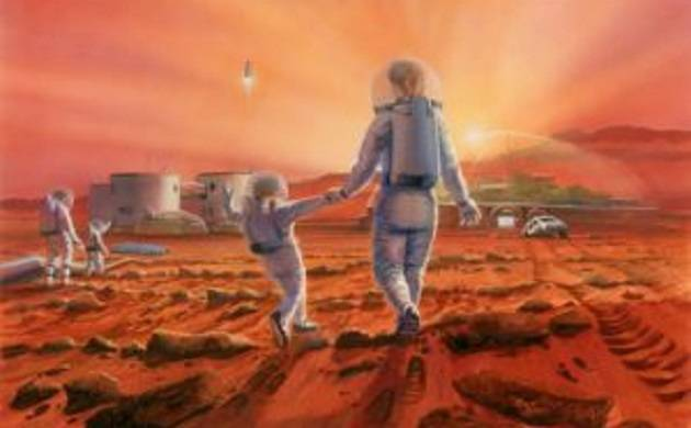 Mars Art Contest 2017: 4 Delhi students' vision of humanity's future on red planet earns them top prize (Source: The Mars Society)