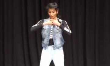 Watch   Viral: Shreya Reddy's Robotic dance on 'Tip Tip Barsa Pani' gains 3 million views on YouTube