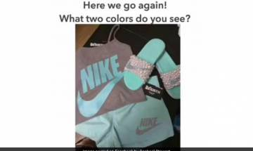 Viral: People find difficult to judge colour of outfit in this pic