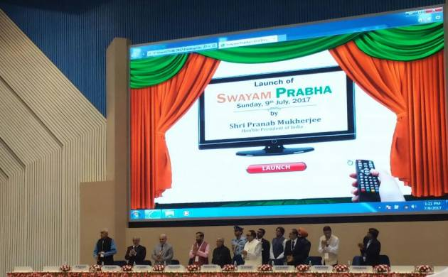 Launch of Swayam Prabha: A digital learning platform