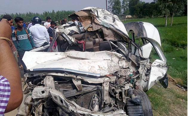 Accident at Noida-Greater Noida expressway (Representative pic)