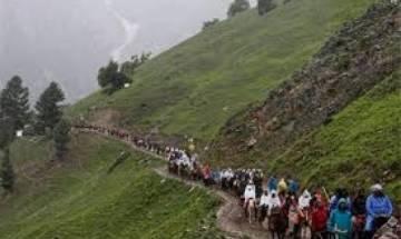 More than 9000 pilgrims pay visit to Amarnath shrine