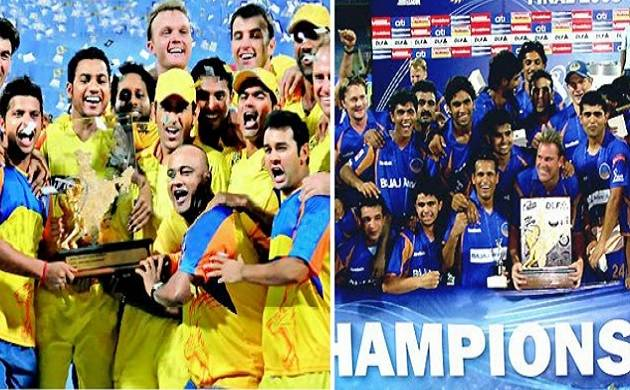 Chennai Super kings, Rajasthan Royals are back in IPL after two-year ban