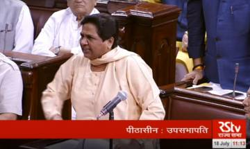 Monsoon Session: Mayawati walks out of Rajya Sabha, threatens to resign if not allowed to speak; both houses adjourned