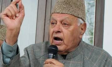 Farooq Abdullah suggests Indian government to take help of friendly countries to initiate talks with Pakistan