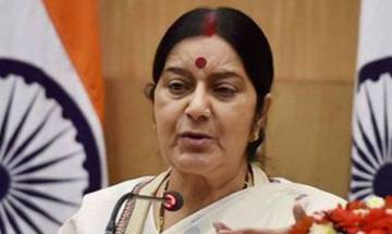 Sushma Swaraj says France visa issued to ailing Amrinder's father, wishes good health for him