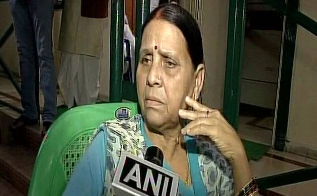 Why probe against us when everyone has properties, asks Rabri Devi (Image: ANI)