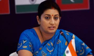 Chennai deluge pics passed as Gujarat flood photos, PTI fires photojournalist after Smriti Irani points out mistake
