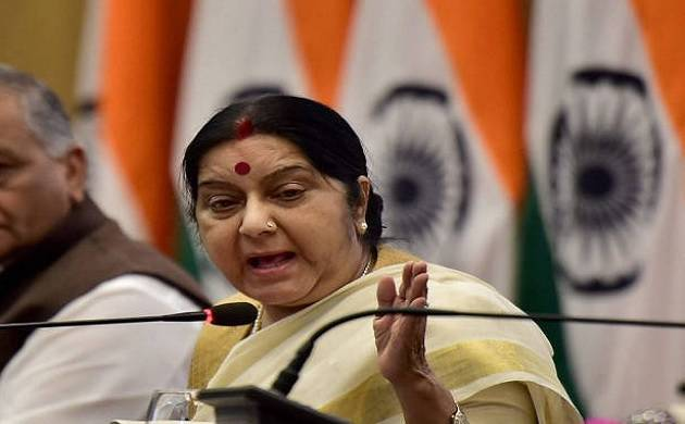 Dialogue with Pakistan will start the day it stops promoting terrorism: Sushma Swaraj