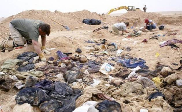Iraq: Mass grave of 40 men found in former Islamic State-held city (File Photo)