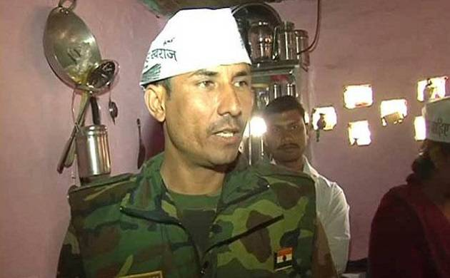 AAP MLA Commando Surinder Singh arrested in property defacement case (PTI photo)