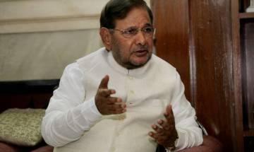 Nitish Kumar sacks Sharad Yadav as JD(U)'s Rajya Sabha leader