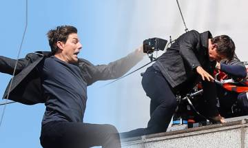 Tom Cruise gets injured filming stunt sequence for Mission: Impossible 6