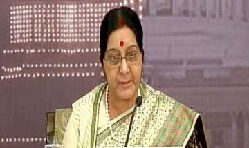 Sushma says India will grant medical visa in all pending bonafide cases from Pakistan on occasion of Independence Day